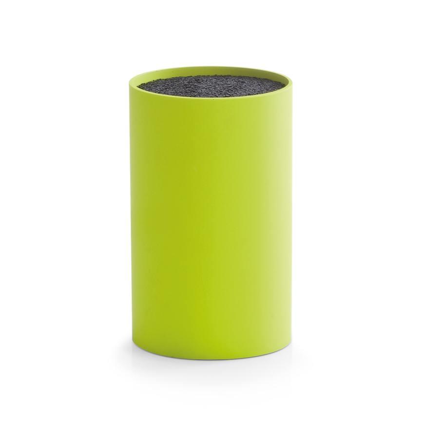 Messerblock mit Borsteneinsatz, grün