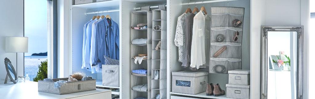 Ordnung im Kleiderschrank: 9 Tipps für einen Schrank ohne Chaos