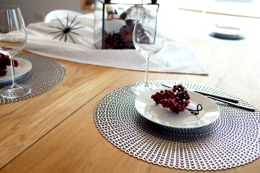 Weihnachtliche Tischdeko Mit Einfachen Ideen Festlich Schmucken
