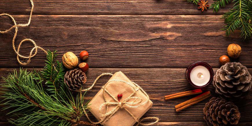weihnachtliche-tischdeko-naturmaterial