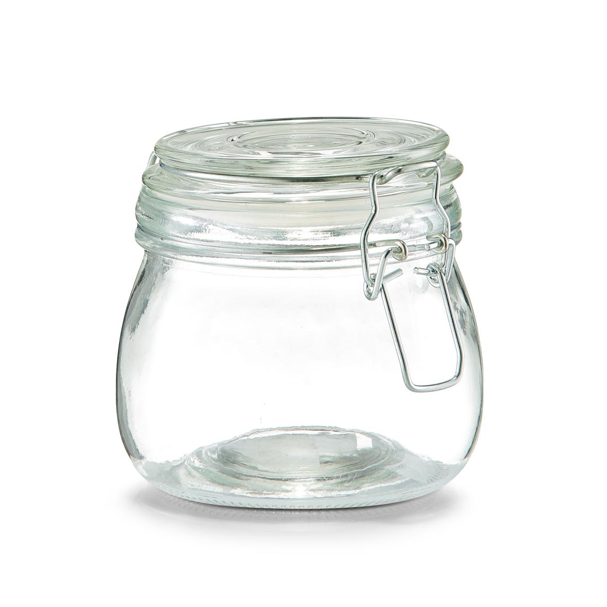 Vorratsglas m. Bügelverschluss, 500 ml