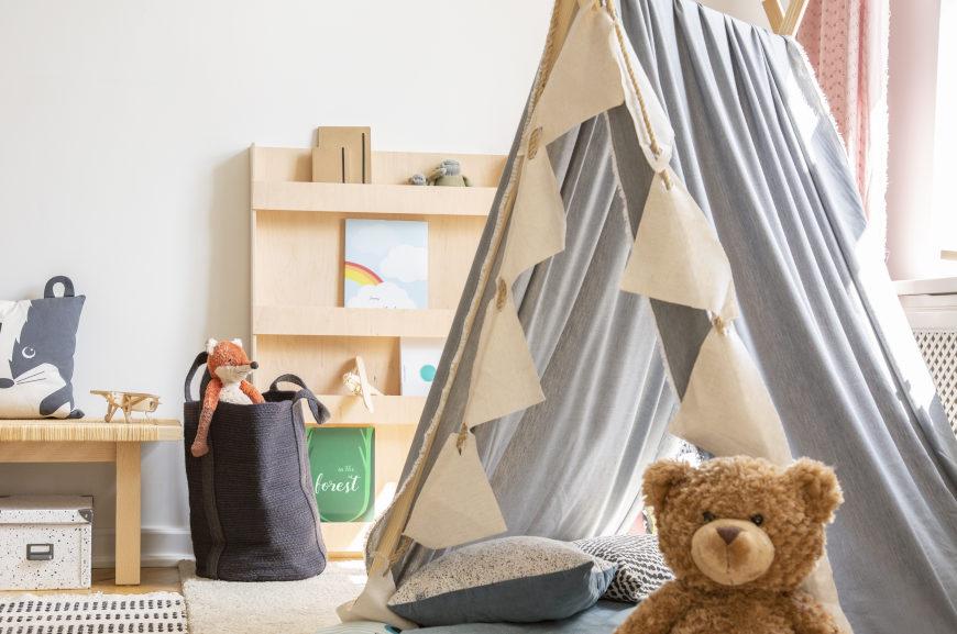 Kinderzimmer gestalten Leseecke