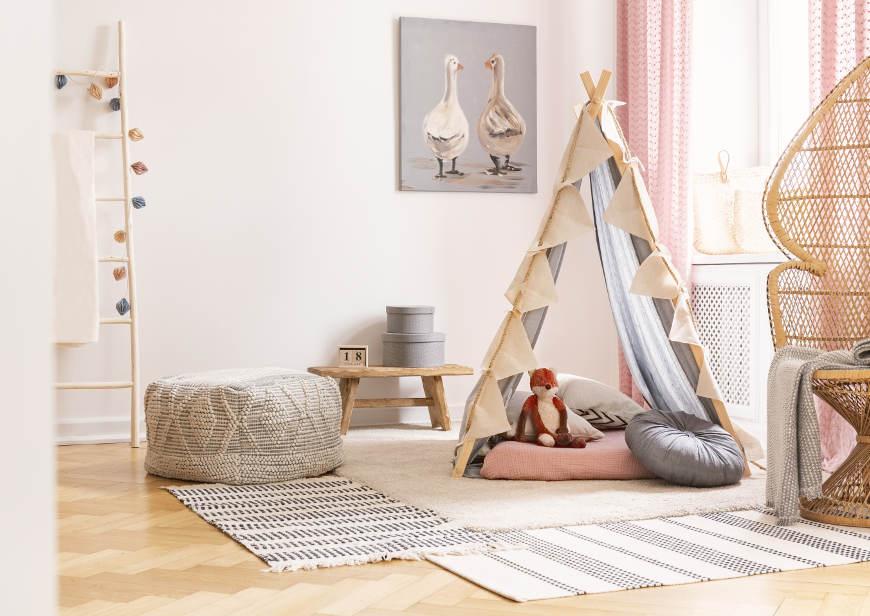 Kuschelecke Kinderzimmer gestalten: 5 Ideen für kuschelige ...
