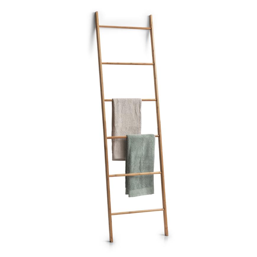 Leiter-Handtuchhalter, Bamboo