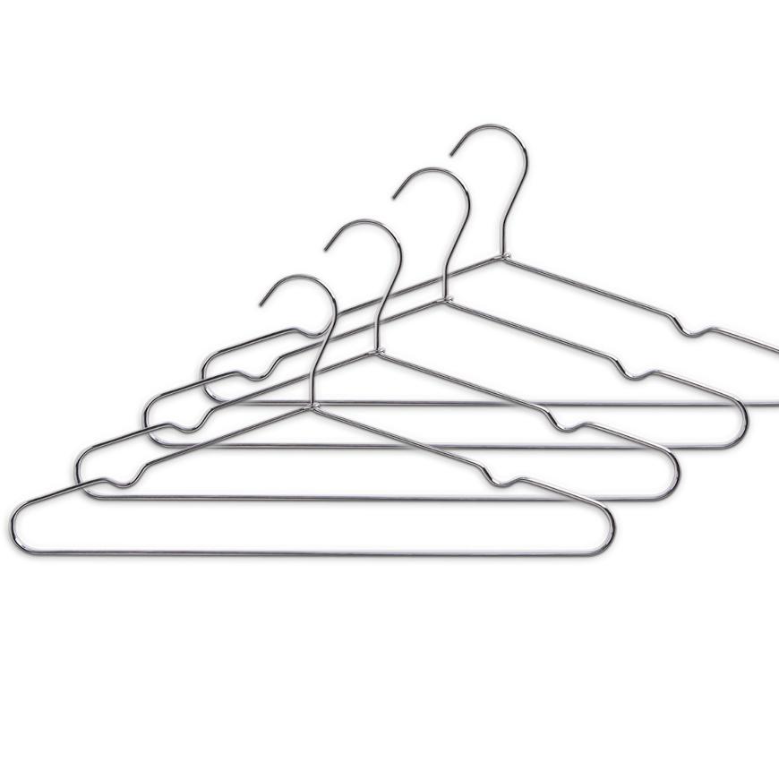 Kleiderbügel, 4-er Set, Metall