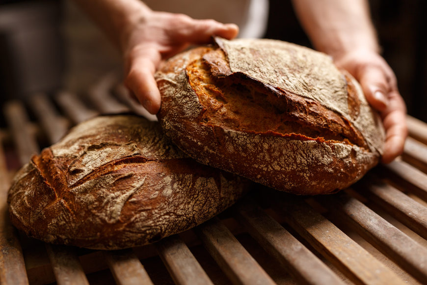 Wie Brot Lagern