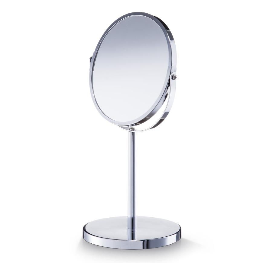 Kosmetikspiegel, 1x/3x, Metall verchromt