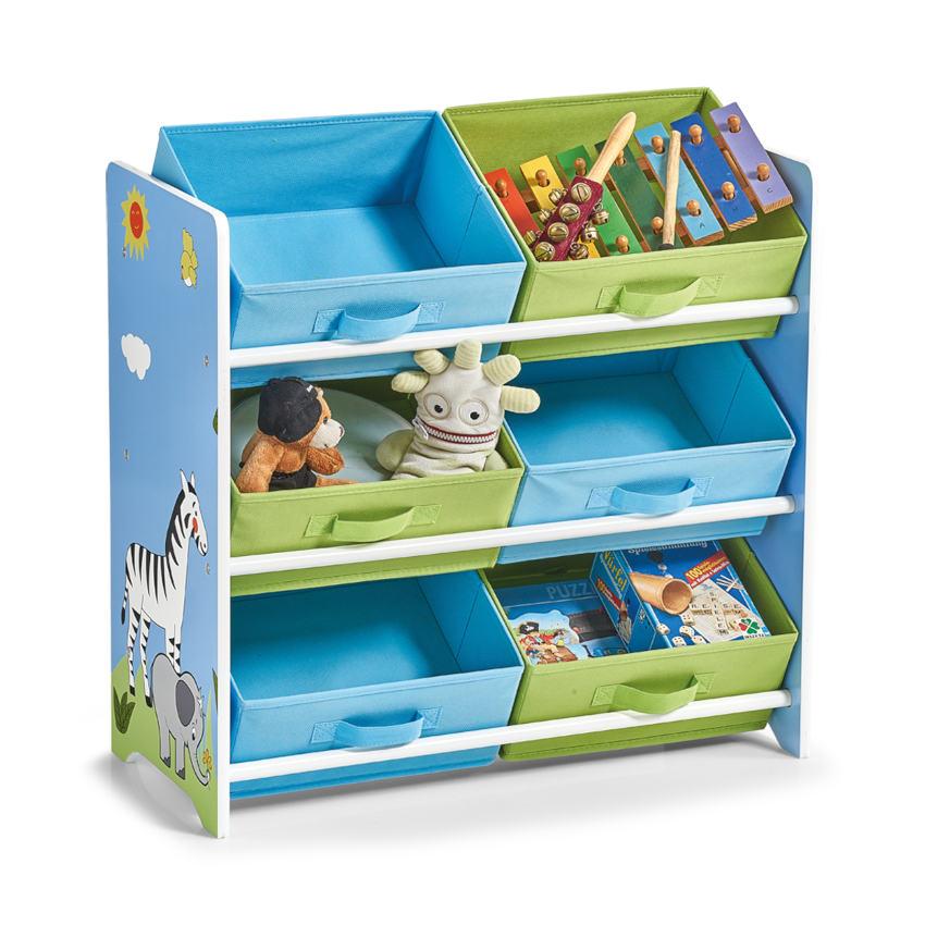 Kinder-Regal m. Vliesboxen